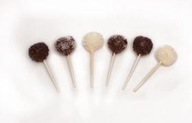 chocolate salted caramel cakepop